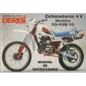 Manual de usuario derbi fd/fds/Yd